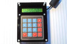 Matrix keypad kit 16X2 LCD