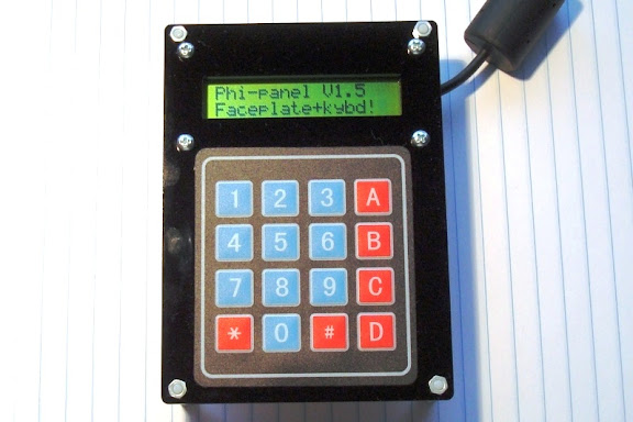 Matrix keypad kit 16X2 LCD