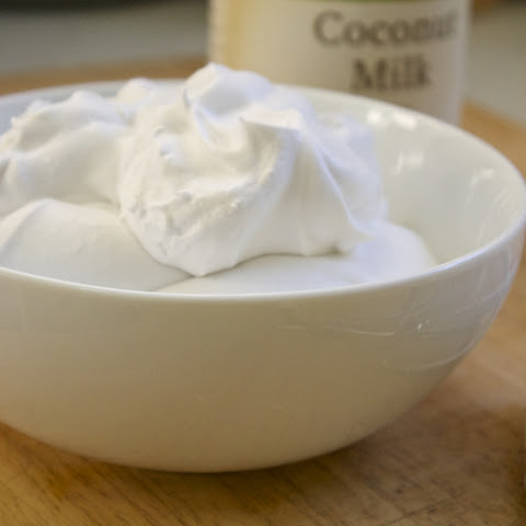 Dairy-Free Coconut Whipped Cream