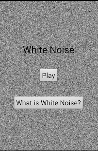 White Noise Sleep Aid - screenshot