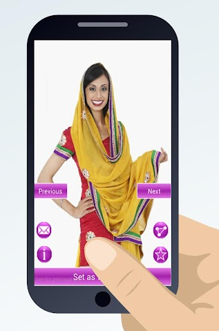 android indian sari dresses Screenshot 1