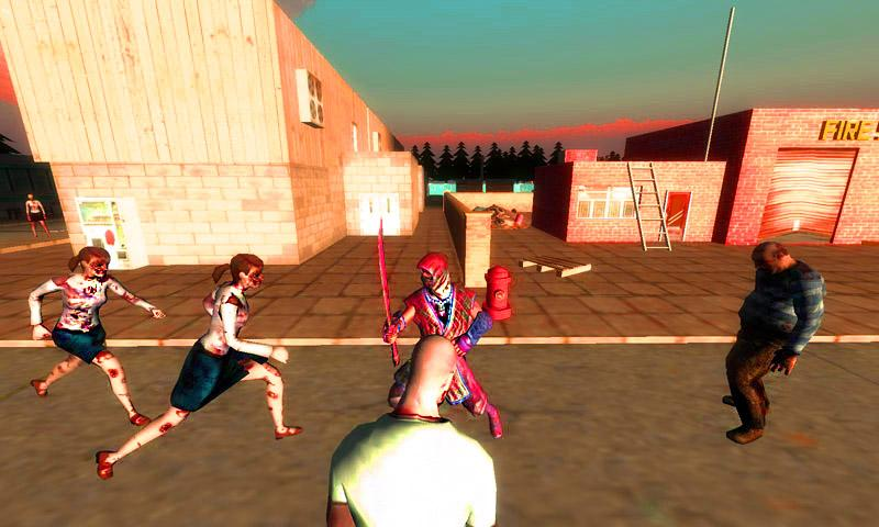 Ninja vs Zombie Screenshot 2