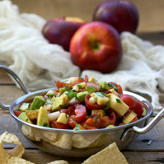 Apple and Avocado Salsa