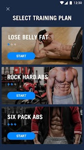 6 Pack Abs in 30 Days - Abs Workout Fitness app screenshot 1 for Android
