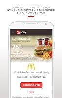 Screenshot of Kupony, gazetki promocje Qpony