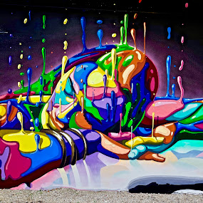 The Wynwood Walls, Miami, FL by Neil Dern - Digital Art People ( color, abstract art, wall art )