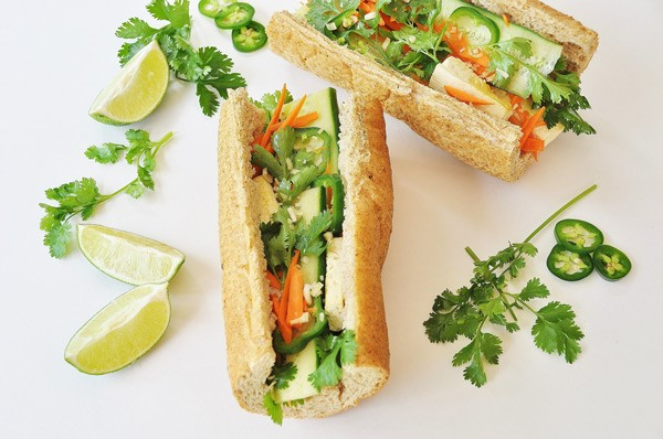 Tofu Bánh Mi Sandwich with Lemongrass Recipe | Yummly