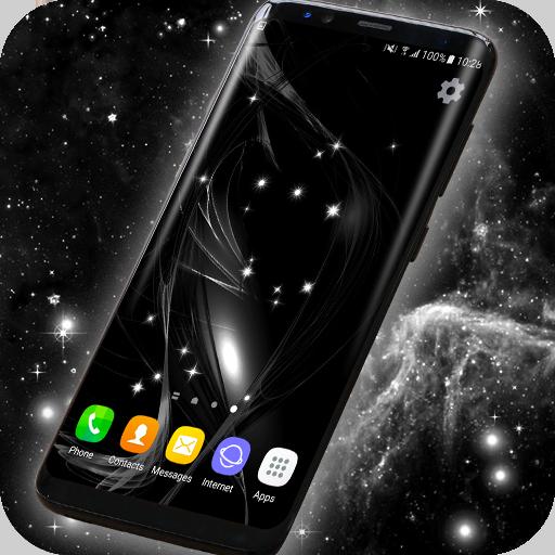 Black Live Wallpaper Free (app)