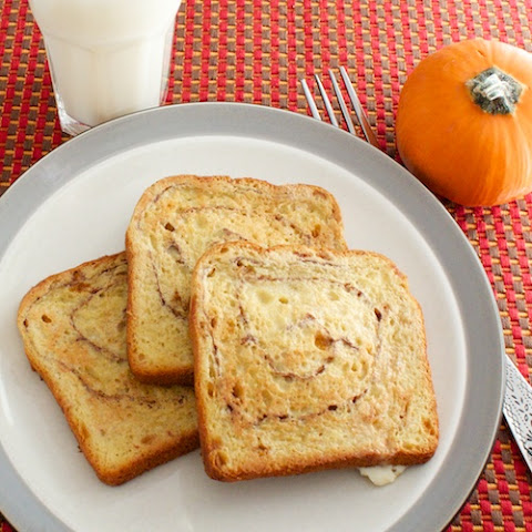 Pumpkin Cinnamon French Toast