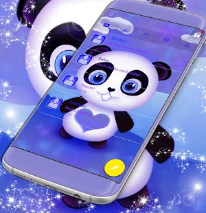 Panda Theme SMS for pc