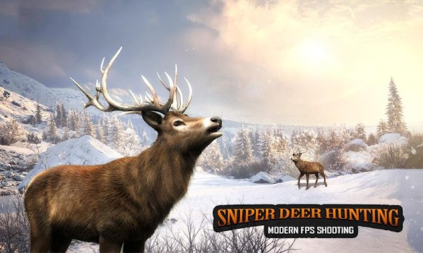 Sniper Deer Hunting Modern FPS Shooting Game APK screenshot thumbnail 6