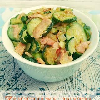 Bacon Onion Zucchini Recipes