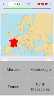 European Countries - Maps, Flags and Capitals Quiz for pc