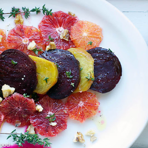 Blood Orange & Roasted Beet Salad