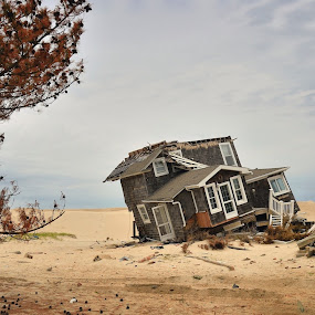 After  Sandy  by Dejan Gavrilovic - News & Events Weather & Storms ( after sandy storm hurricane house beach nj new jersey shore )