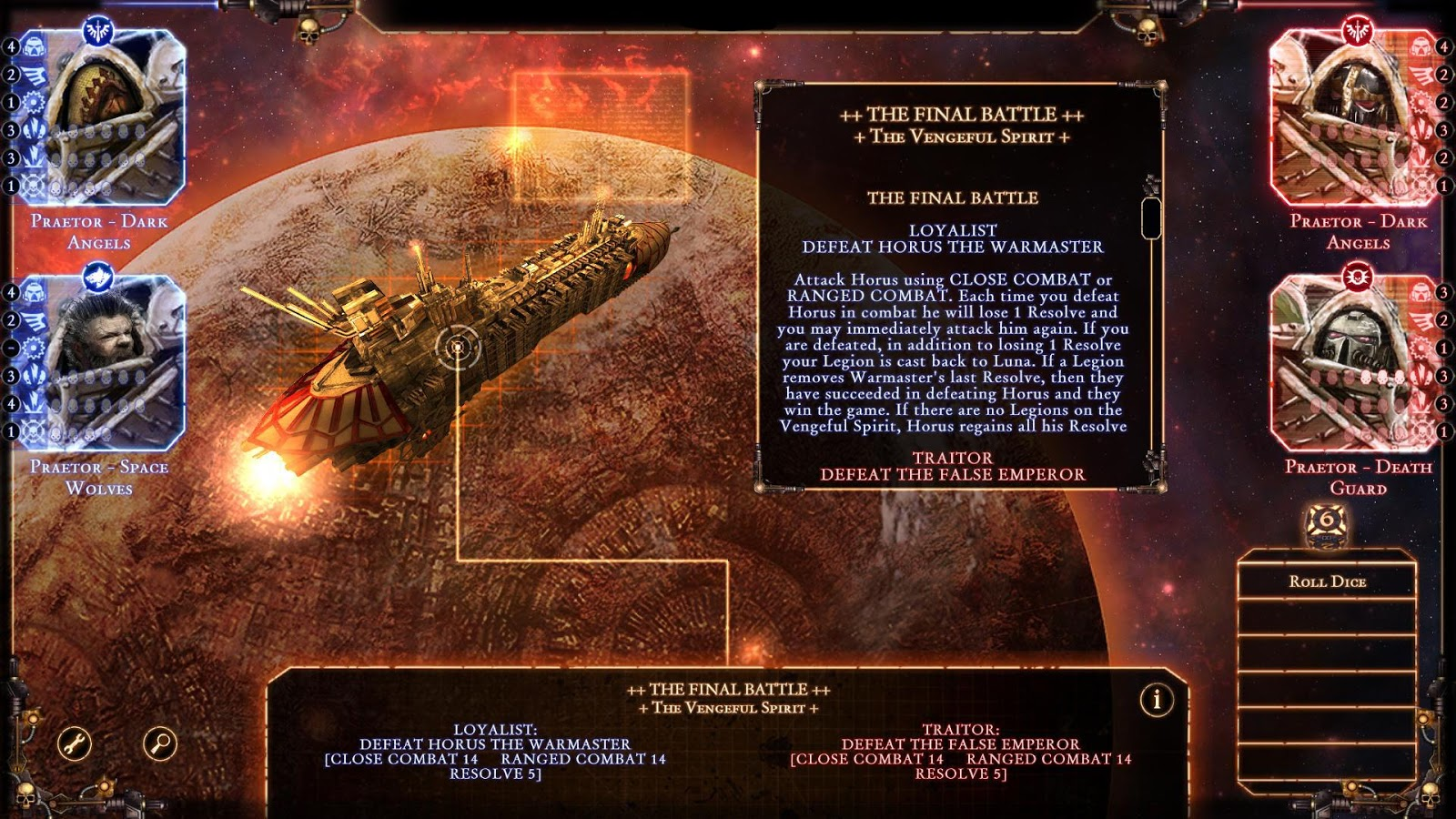 Talisman: The Horus Heresy Screenshot 1