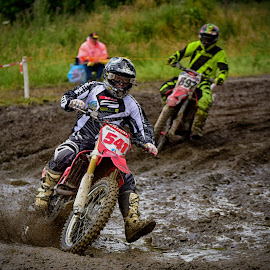 by Marco Bertamé - Sports & Fitness Motorsports ( muddy, 541, mud, motocross, number, race )
