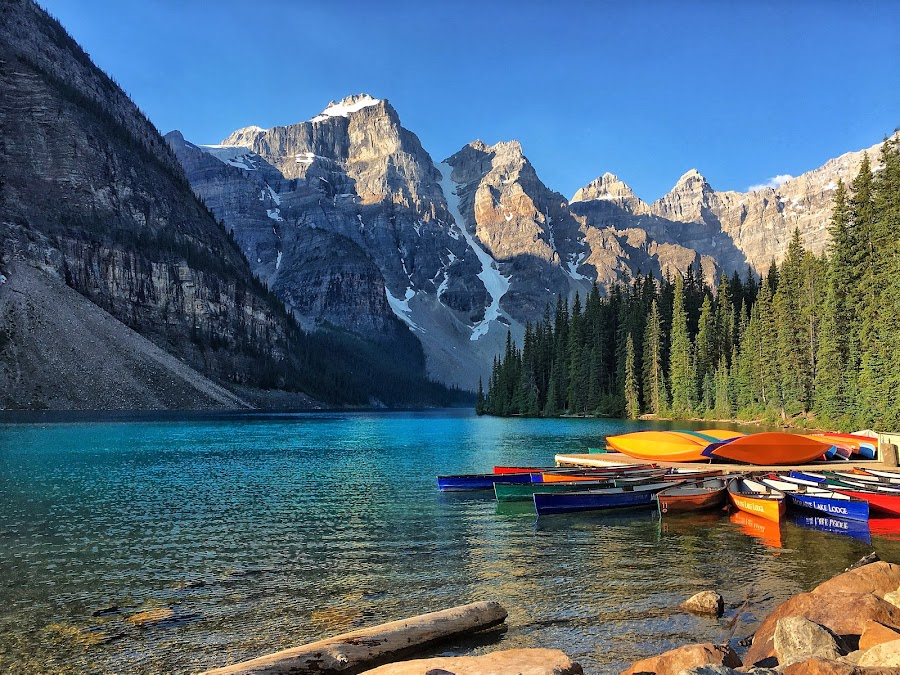 Moraine Lake by Margie Troyer - Landscapes Waterscapes (  )