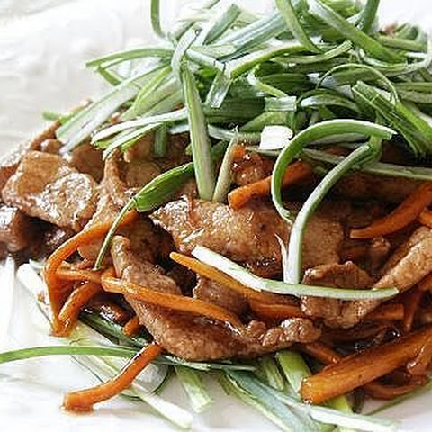 Pork in Hoisin Sauce