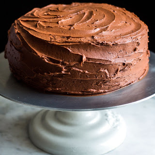 Devil's Food Cake With Black Pepper Buttercream