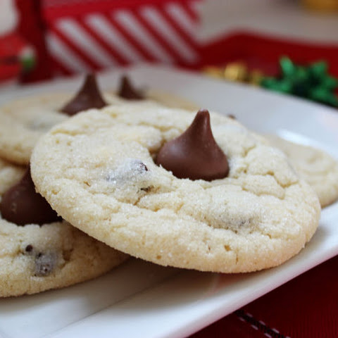 Chocolate Chip Sugar Kiss Cookies