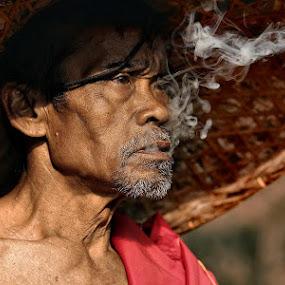 Old Man by Deddy  Heruwanto - People Portraits of Men