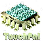 Neon green TouchPal APK Image