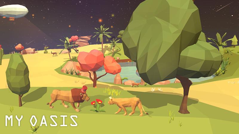 My Oasis - Calming and Relaxing Incremental Game Screenshot 2