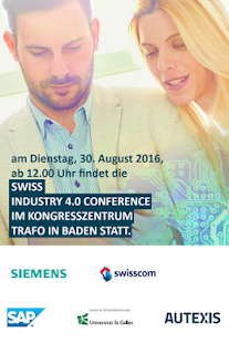 Swiss Industry 4.0 Conference - screenshot