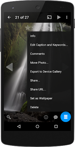 PFolio for Google Photos - screenshot