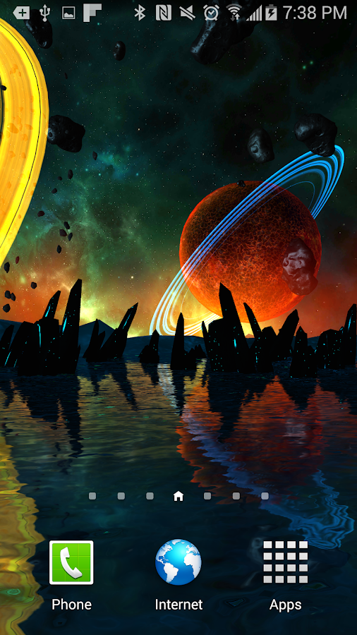 Far Galaxy 3D Live Wallpaper Screenshot 4
