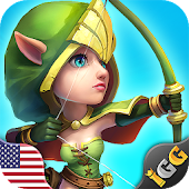 3.  Castle Clash: Heroes of the Empire US