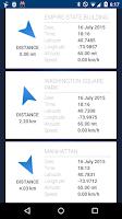 Screenshot of GPS Status