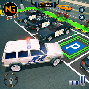 Police Car Parking: Free 3D Driving Games For PC / Windows 7/8/10 / Mac – Free Download