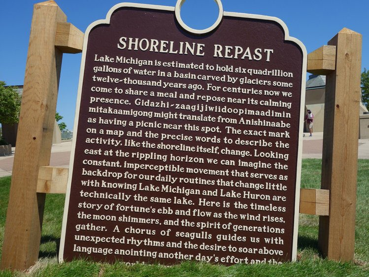 Plaque by artist Paul Druecke Submitted by @DasDing_Dong