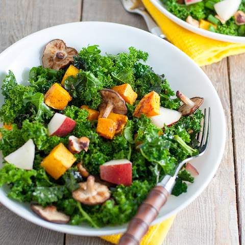 Butternut Squash and Shiitake Salad