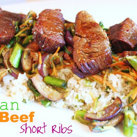 Asian Beef Short Ribs (Pressure Cooker Recipe)