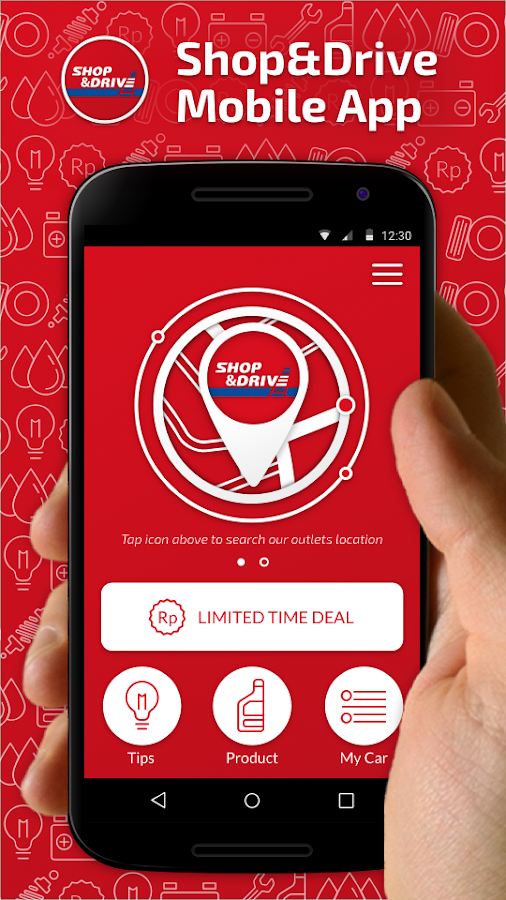 Shop&Drive Mobile App Screenshot 0