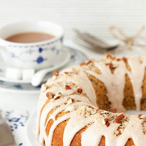 Pumpkin, Pecan and Coconut Ring Cake