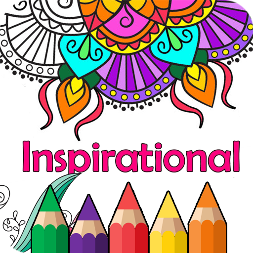 Inspirational Coloring Books For Adults Relaxation Android Apps On