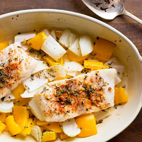 Baked Lemon Pepper Cod