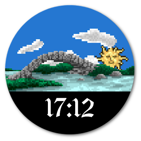 android PixelWorld Watch Screenshot 2