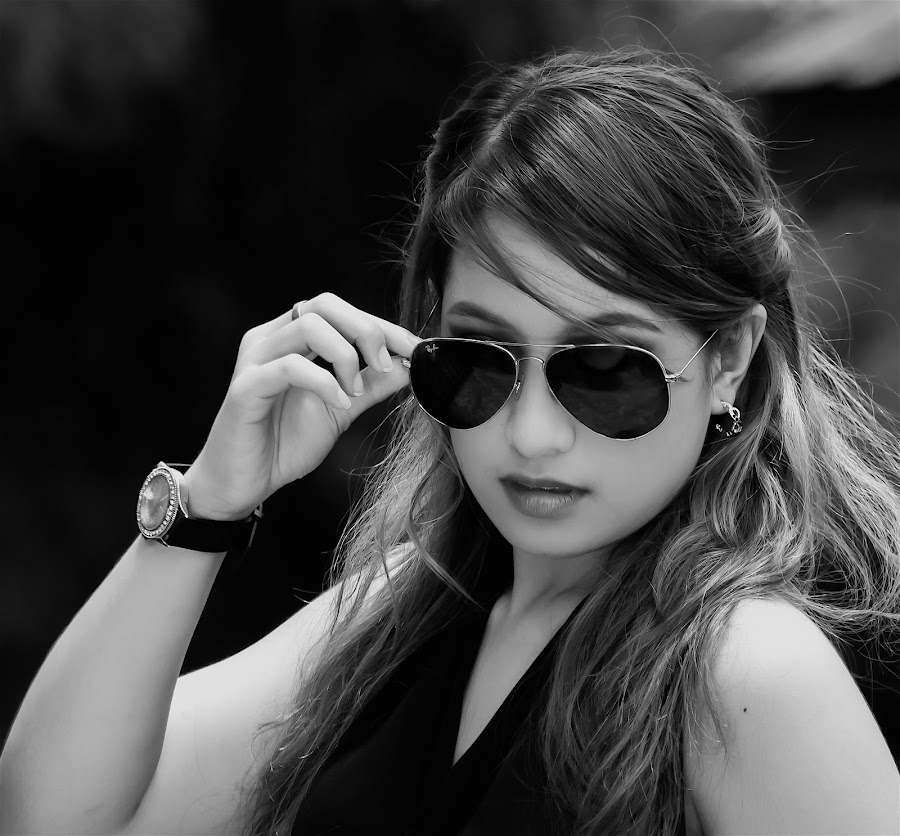 Shades by Jerry ME Tanigue - Black & White Portraits & People
