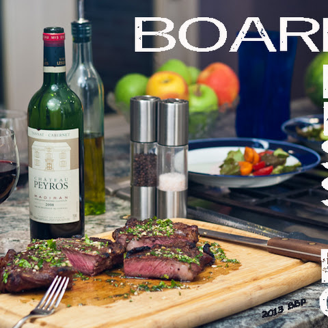 Board Dressing for Steak