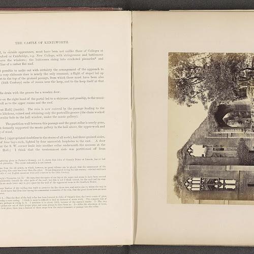 Gezicht op de ru ne van de fa ade van de zaal van het kasteel van kenilworth anonymous c 1862 - Versiering van de zaal van het tienermeisje van ...