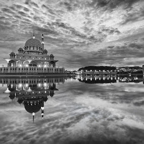 The Formations by Danial Abdullah - Landscapes Cloud Formations ( putra, putrajaya, buildings, lake, travel, lakeside, architecture )