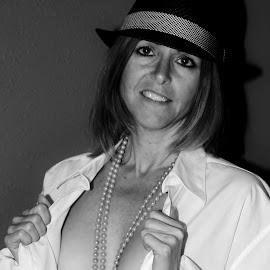 Look at Me   by Ron Bettini - Nudes & Boudoir Boudoir