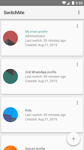 SwitchMe Multiple Accounts Screenshot