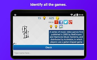 Screenshot of Games Logo Quiz
