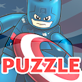 Puzzles Lego Captain Games APK for Bluestacks